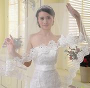 Свадебная фата со стразами 280 см