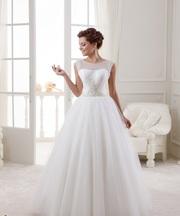 Очень нежное новое свадебное платье из Европы