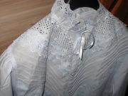 Новая блузка с длинным рукавом 48-50.